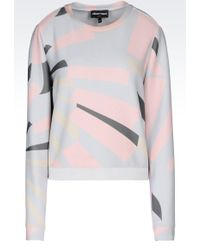 Emporio Armani | Sweatshirt Printed Motif | Lyst