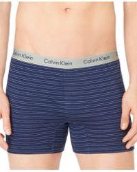 Calvin Klein Men'S Knit Slim-Fit Boxers U1029 - Lyst