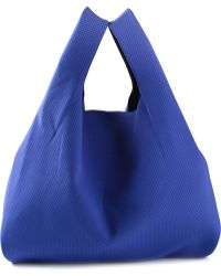 MM6 by Maison Martin Margiela Slouchy Perforated Tote - Blue