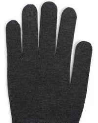 Splendid Cashmere Blend Gloves - Gray