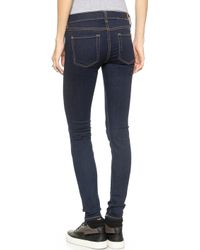 7 For All Mankind The Skinny Jeans - Rinsed Indigo - Lyst