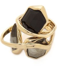 Alexis Bittar Starlight Marquis Cluster Band Ring - Starlight - Lyst