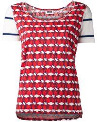 Sonia By Sonia Rykiel Love Apple Rayures Tshirt - Lyst