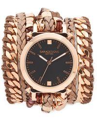 Sara Designs - Maasai Wrap Watch - Lyst