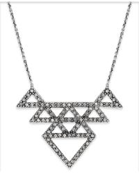 House Of Harlow 1960 Pavé Tessellation Pendant Necklace - Lyst