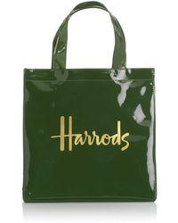 Harrods Small Signature Shopper Bag - Lyst