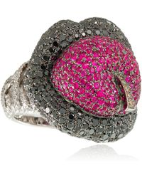 Lydia Courteille - Erotic Ruby Ring - Lyst