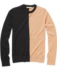 Michael Kors Merino Colorblock Sweater - Lyst