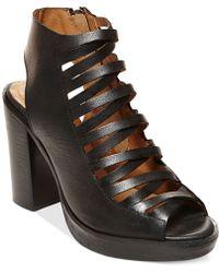 Steve Madden Women'S Lace-Up Platform Dress Sandals black - Lyst