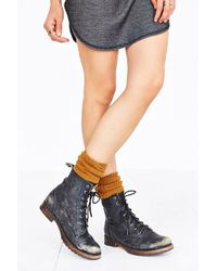 Soxiety - Ribbed Cashmere Knee-High Sock - Lyst