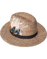 Zadig & Voltaire - Alabama Raffia Hat - Lyst