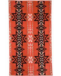 Pendleton - Plains Star Oversized Jacquard Towel - Lyst
