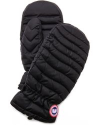 Canada Goose - Camp Mittens - Black - Lyst
