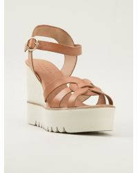 Palomitas By Paloma Barcelo' Wedge Sandals - Lyst
