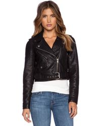Obey City Moto Vegan Leather Jacket - Lyst