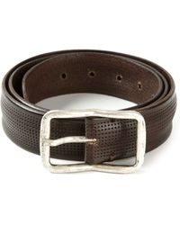 Dondup Perforated Belt - Lyst