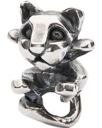 Trollbeads - Curious Kitten Bead Charm - Lyst