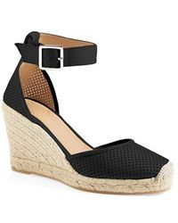 Marc By Marc Jacobs 'Summer Breeze' Lambskin Leather Espadrille Wedge Sandal - Lyst