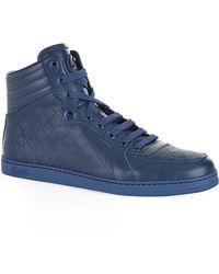 Gucci Diamante High Top Sneaker - Lyst