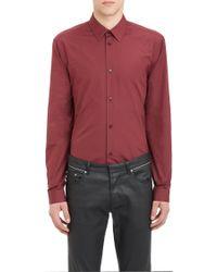 Balenciaga Poplin Slim Shirt - Lyst