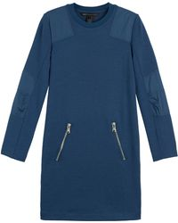 Marc By Marc Jacobs Jayden Stretch Wool Dress - Lyst
