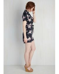 Collectif Clothing - Sightseeing Essential Romper - Lyst
