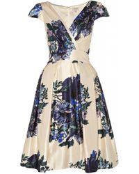 Temperley London Poppy Print Dress - Lyst