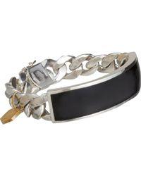 Ann Dexter-Jones Id Bracelet - Metallic