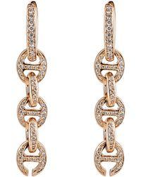 Hoorsenbuhs - Women's Tri-link Drop Earrings - Lyst