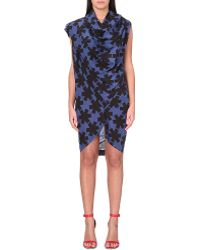 Vivienne Westwood Anglomania Drape Bodice Dress - Lyst