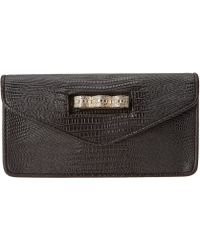 BCBGMAXAZRIA Clutch With Pave Knuckleduster - Lyst