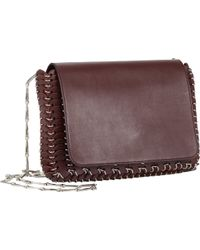 Paco Rabanne Leather Chain Mail Shoulder Bag - Lyst