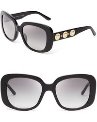 Versace Rock Icons Medusa Oversized Square Sunglasses - Lyst