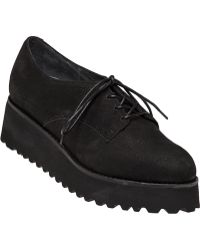 Jeffrey Campbell | Pistol Wedge Leather Shoes | Lyst