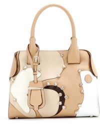 Tod's Cape Small Embellished Leather Tote - Lyst
