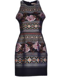 Matthew Williamson Pink Short Dress - Lyst