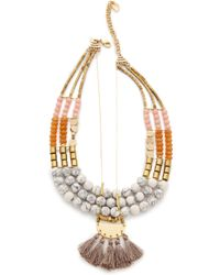 David Aubrey - Samantha Necklace - Lyst