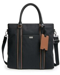 Ted Baker 'ramblor' Canvas & Leather Tote - Black