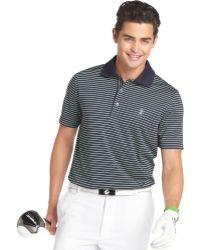 Izod Feeder Striped Performance Golf Polo - Lyst