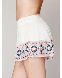 Intimately - Mesh Shorts - Lyst