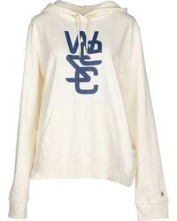 Wesc Sweatshirt white - Lyst