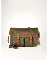 Polo Ralph Lauren Nylon Messenger Bag - Lyst