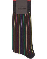 Duchamp Pop Vertical Stripes Socks - For Men - Lyst