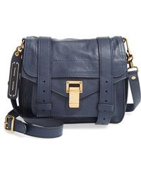 Proenza Schouler Women'S 'Ps1' Crossbody Pouch - Blue - Lyst