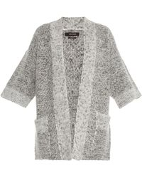 Isabel Marant Cowens Chunky-knit Cardigan gray - Lyst