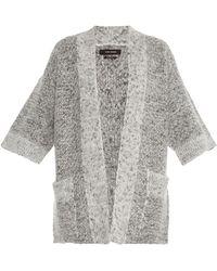 Isabel Marant Cowens Chunky-knit Cardigan - Lyst