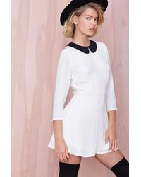 Nasty Gal Wendy Dress White - Lyst