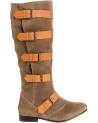 Office Nash Pirate Slouch Knee Boot - Lyst