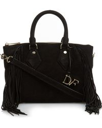 Diane von Furstenberg | Voyage Boho East West Leather Cross-body Bag | Lyst