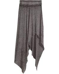 H&M Asymmetric Skirt - Lyst
